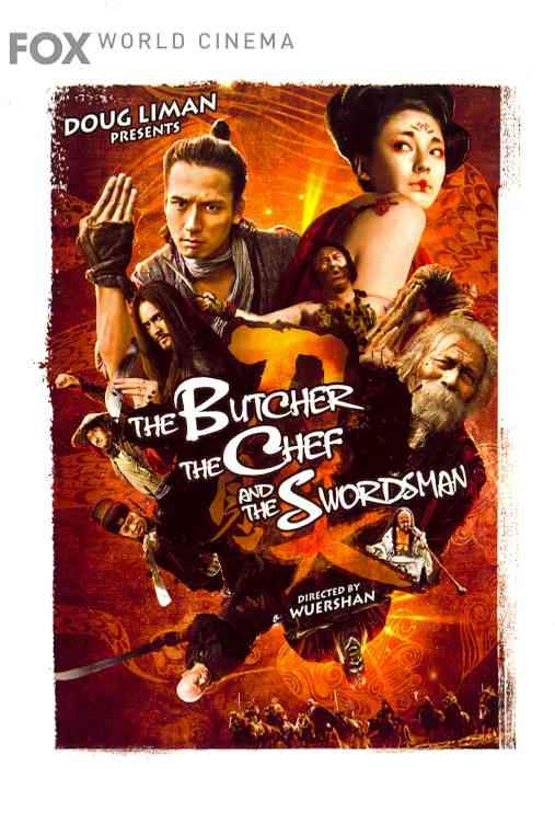 BUTCHER THE CHEF AND THE SWORDSMAN BY ANDO,MASANOBU (DVD)